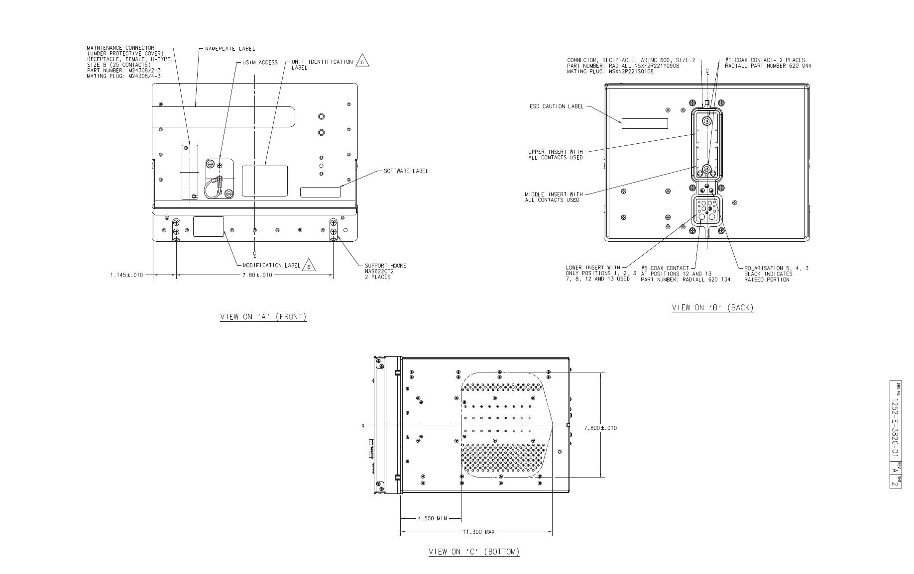 EMS Technologies Canada HSD-MK2 Satcom Transeiver User