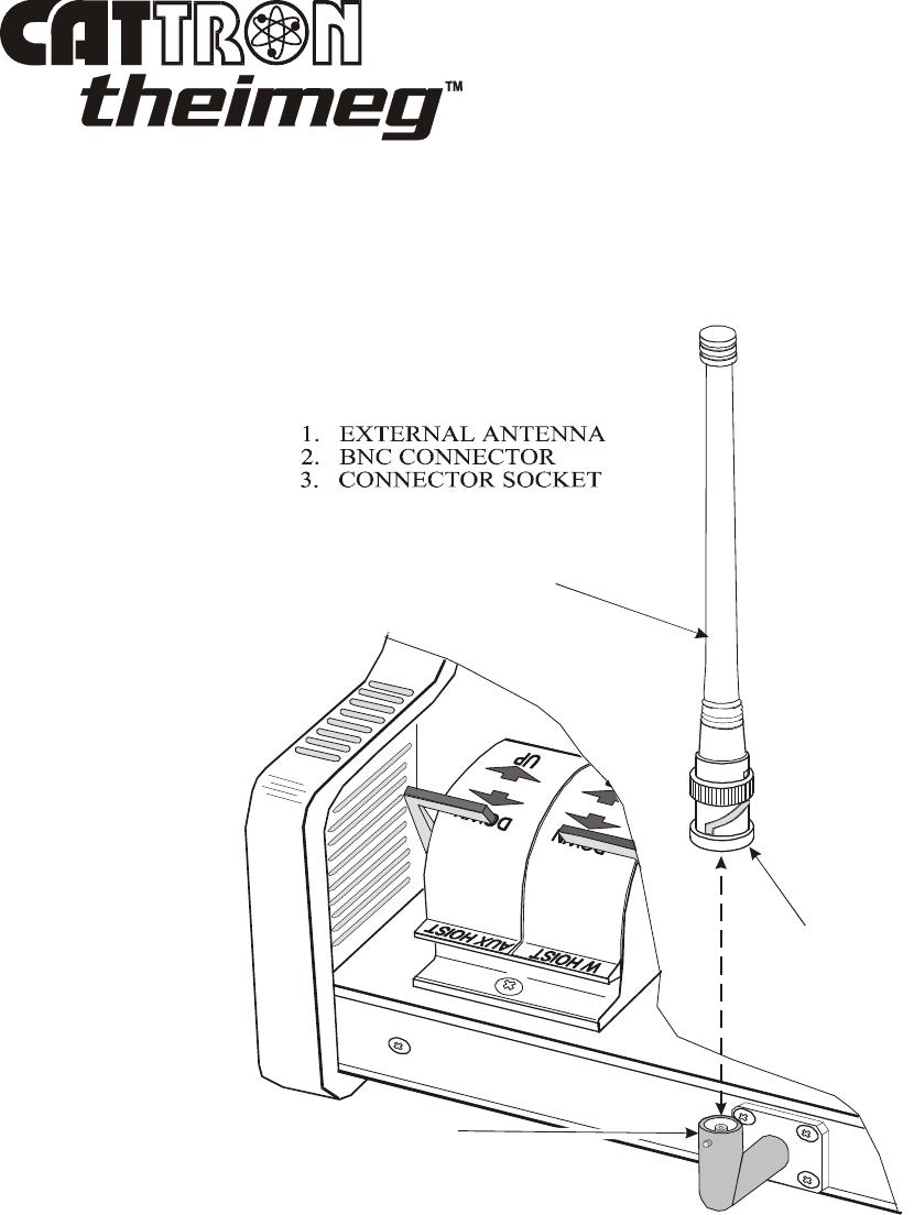 Cattron North America 7700P15 Industrial Remote Control