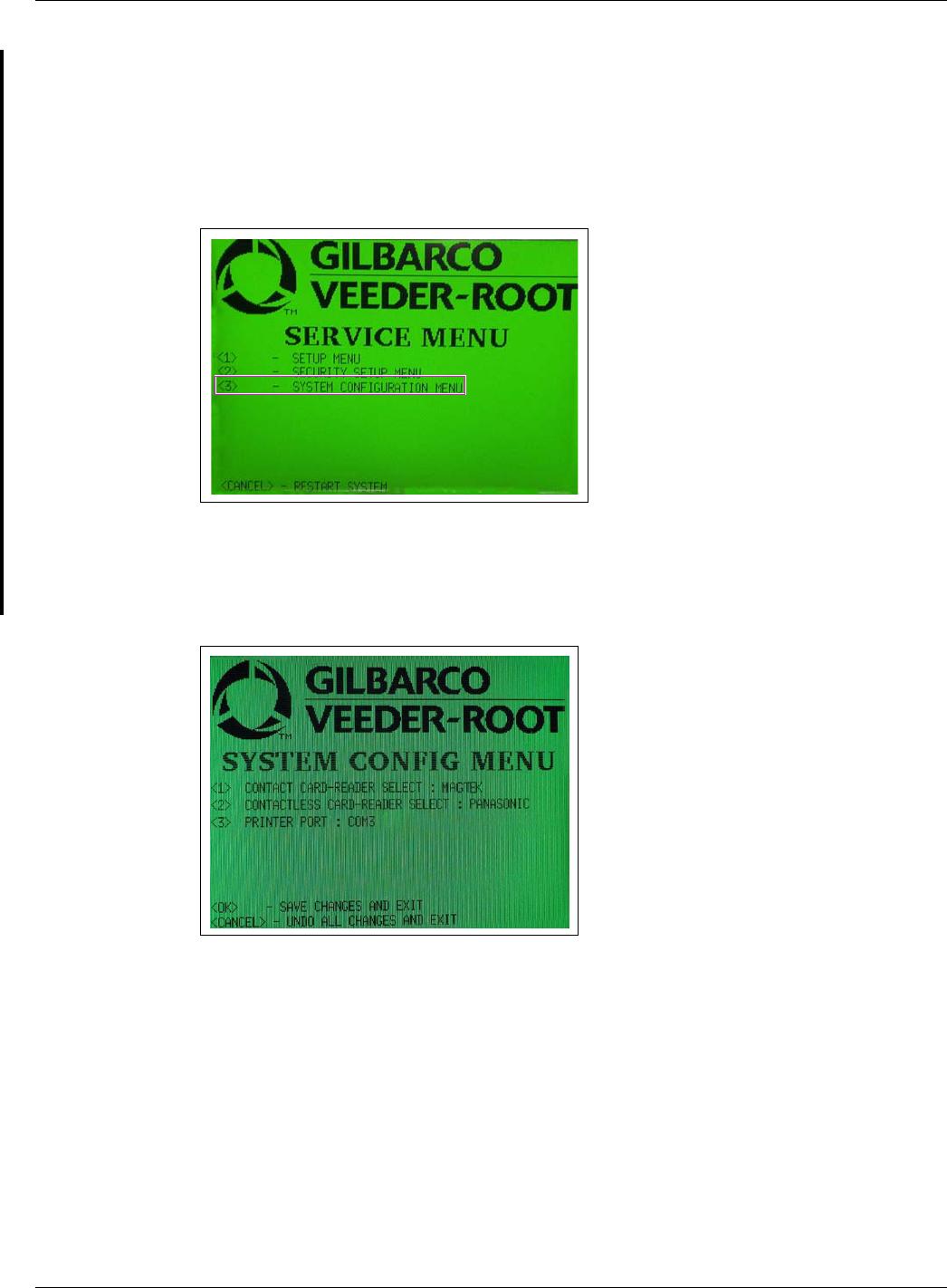 Gilbarco GCM Contactless Smart Card Interface User Manual