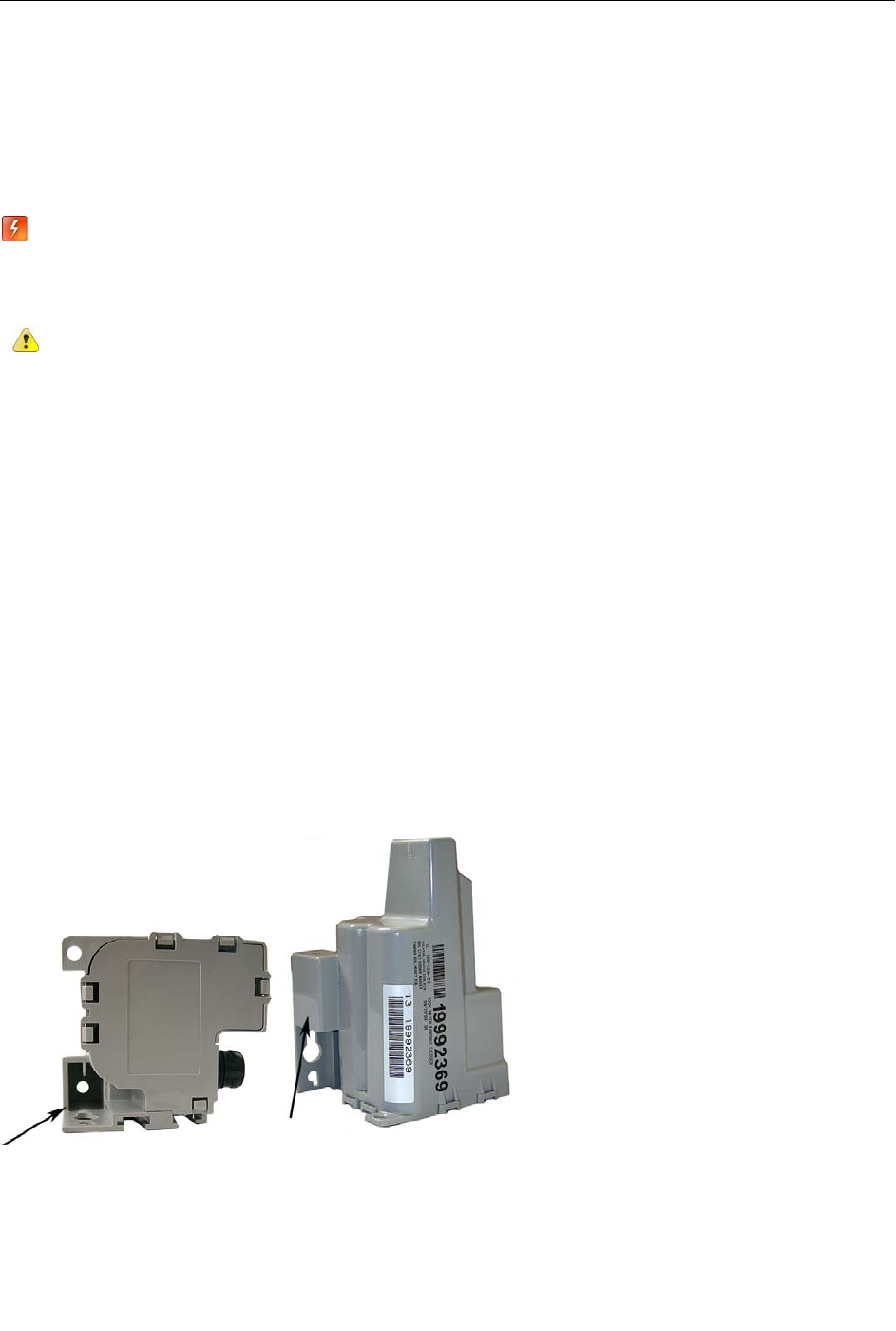 Itron 100WB AMR transceiver device for utility meters User ... on