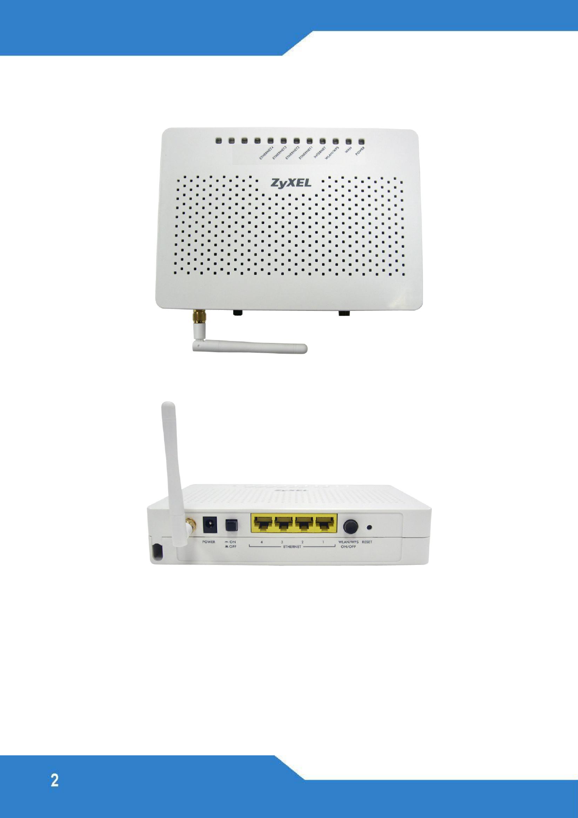 ZyXEL Communications FSG1100HN Wireless Active Fiber Router