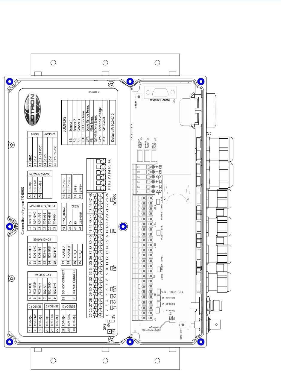 Jotron AS TR8000 Tron AIS TR-8000 User Manual Operator and