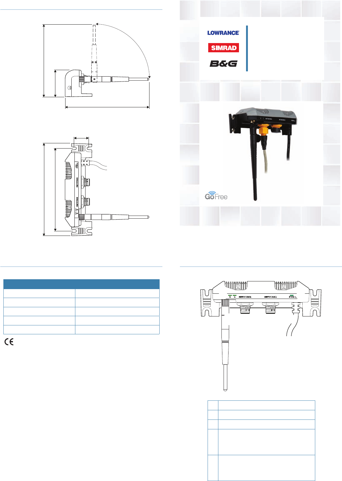 Navico Auckland GOFREEWIFI WIFI Router User Manual