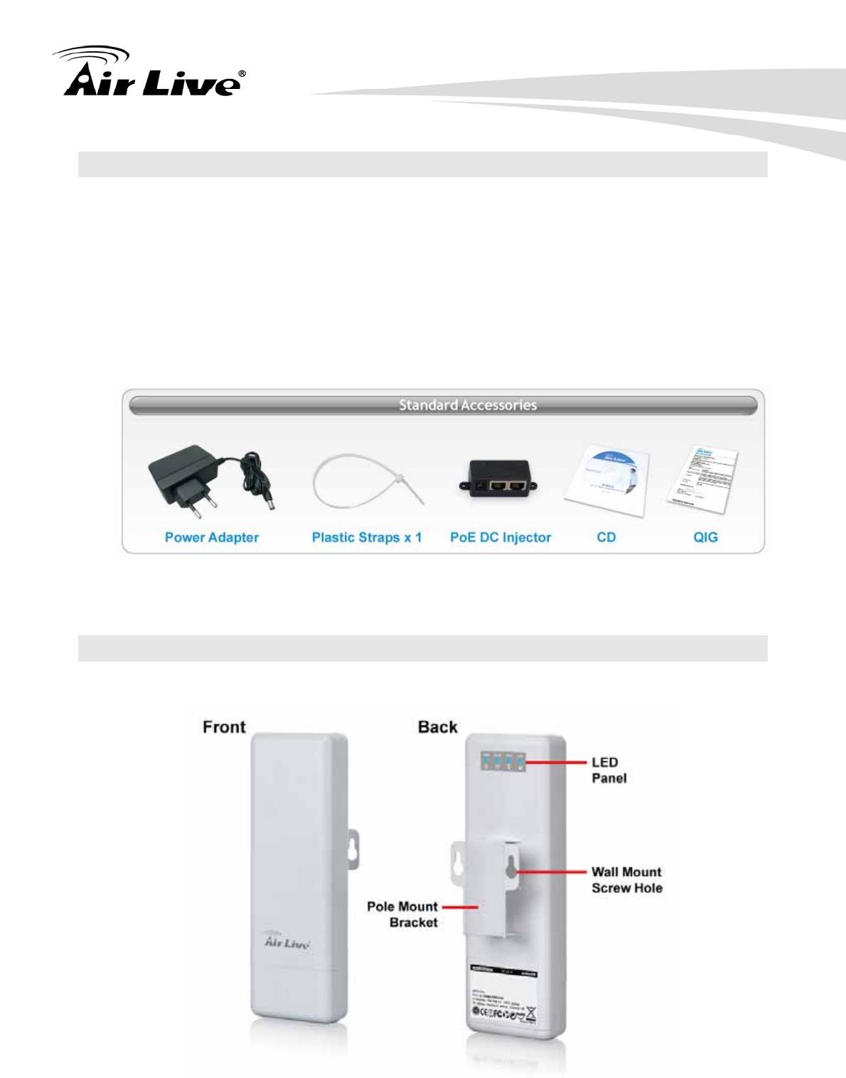 OvisLink AM5N 802 11a/n 1T1R Wireless Outdoor CPE User