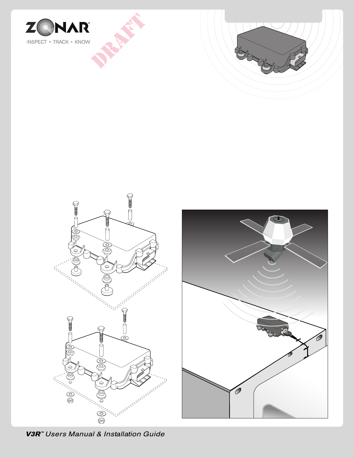 Zonar Systems V3R V3R User Manual on cadec wiring diagram, gps wiring diagram, peoplenet wiring diagram, qualcomm wiring diagram,