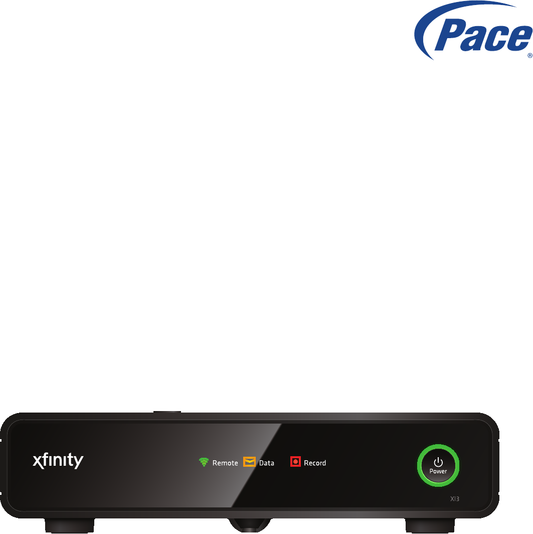 ARRIS PX031ANI Cable IP Set Top Box client with integrated