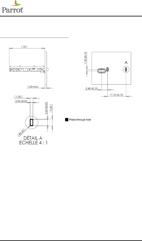 PARROT FC6000TS Bluetooth Module User Manual FC6000T