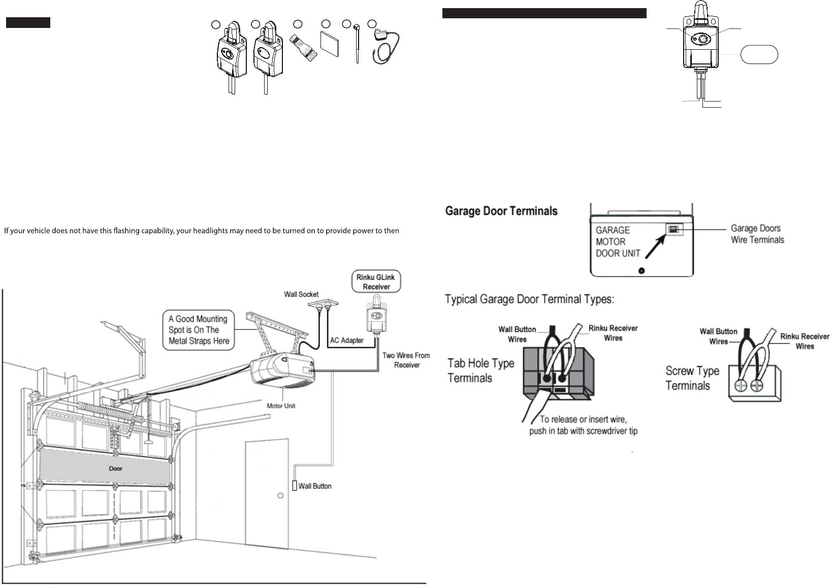 G Light Technology Rhggokit Gate Opener With Car Headlight Flashing User Manual Rh Ggo Kit Front V090913 F Pt03
