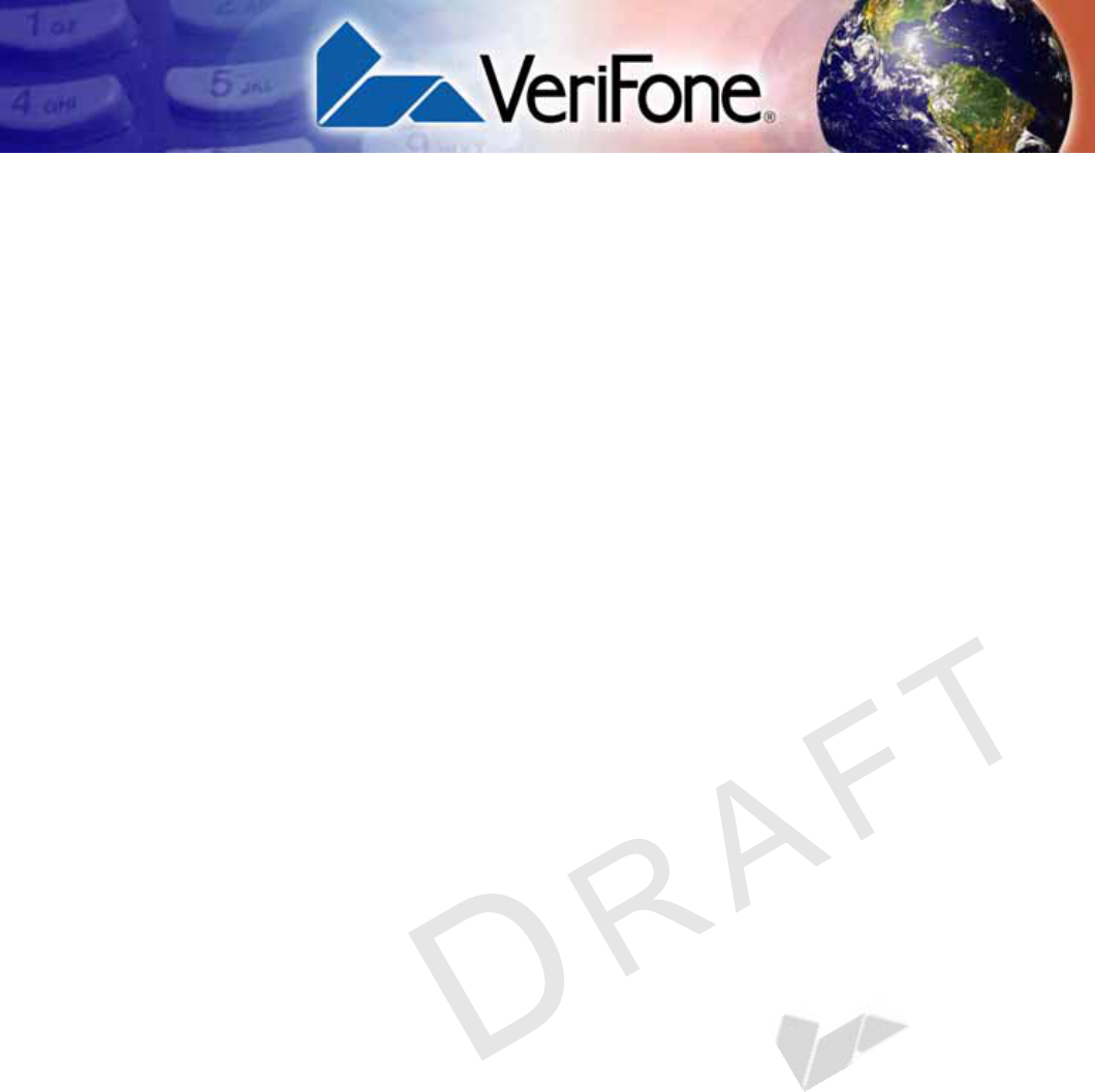 Verifone VX675WCDMA Point of Sale Terminal User Manual