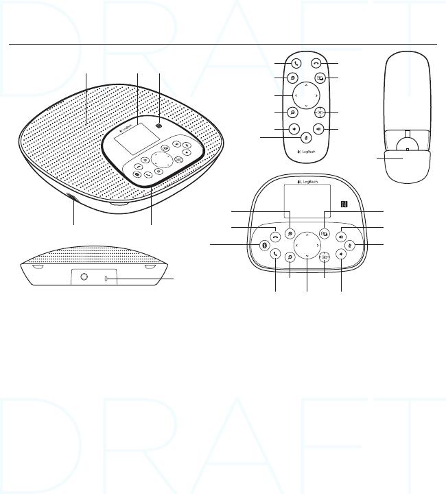 Logitech Far East VU0034 Wireless Speaker (sub-device for