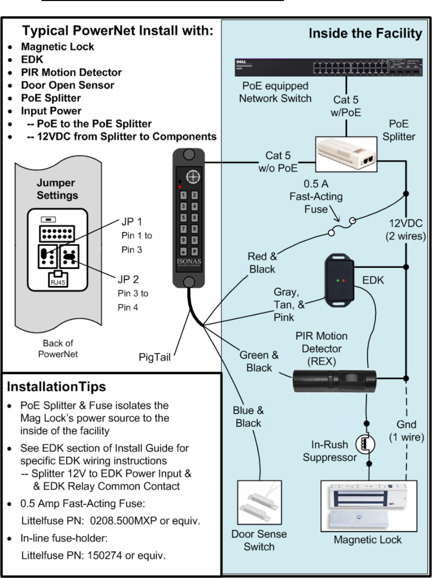Isonas Orporated Rc 03m Rfid Security Access Controller Lf 122khz Cat5 Wiring Diagram Wiki How To Install The Ip Enabled Reader 42