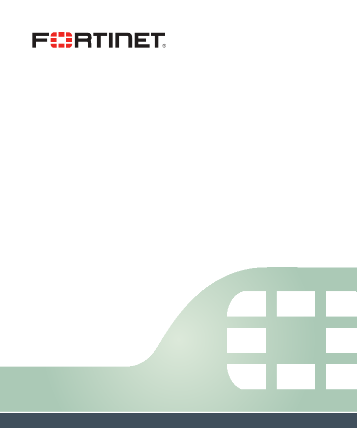 Fortinet 121402 Security Wireless Access Point User Manual