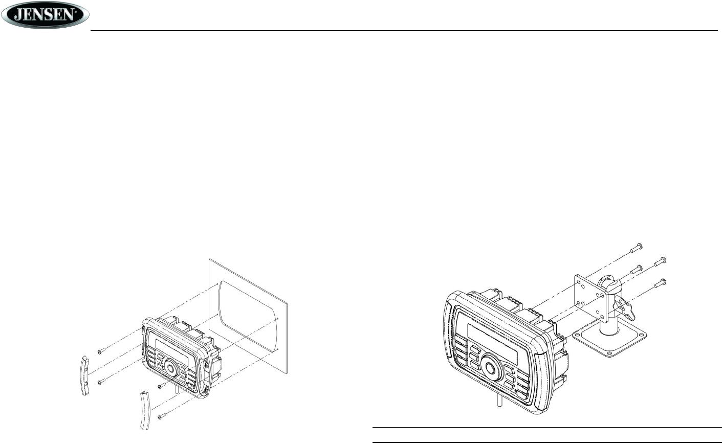 Sounding Audio MS40BT MARINE AUDIO SYSTEM User Manual