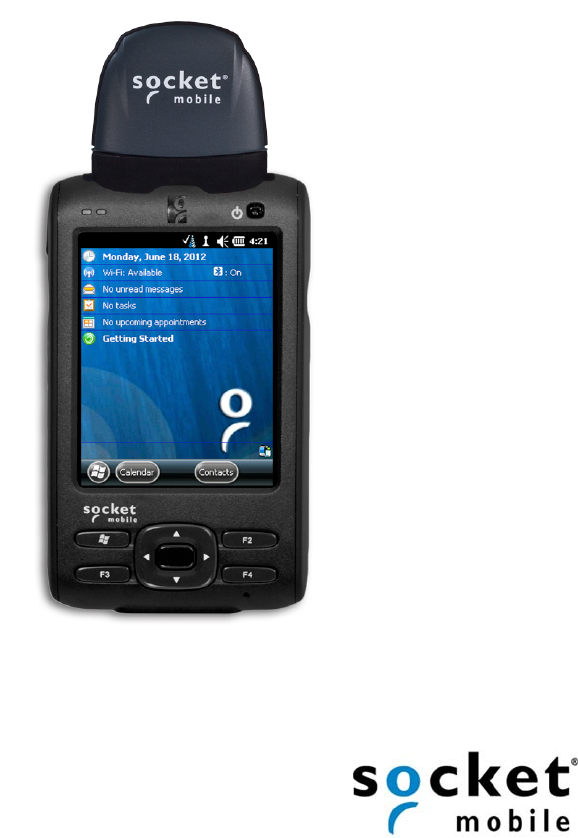 Socket Mobile CF6V2 NFC Reader-Scan Card User Manual Socket Mobile