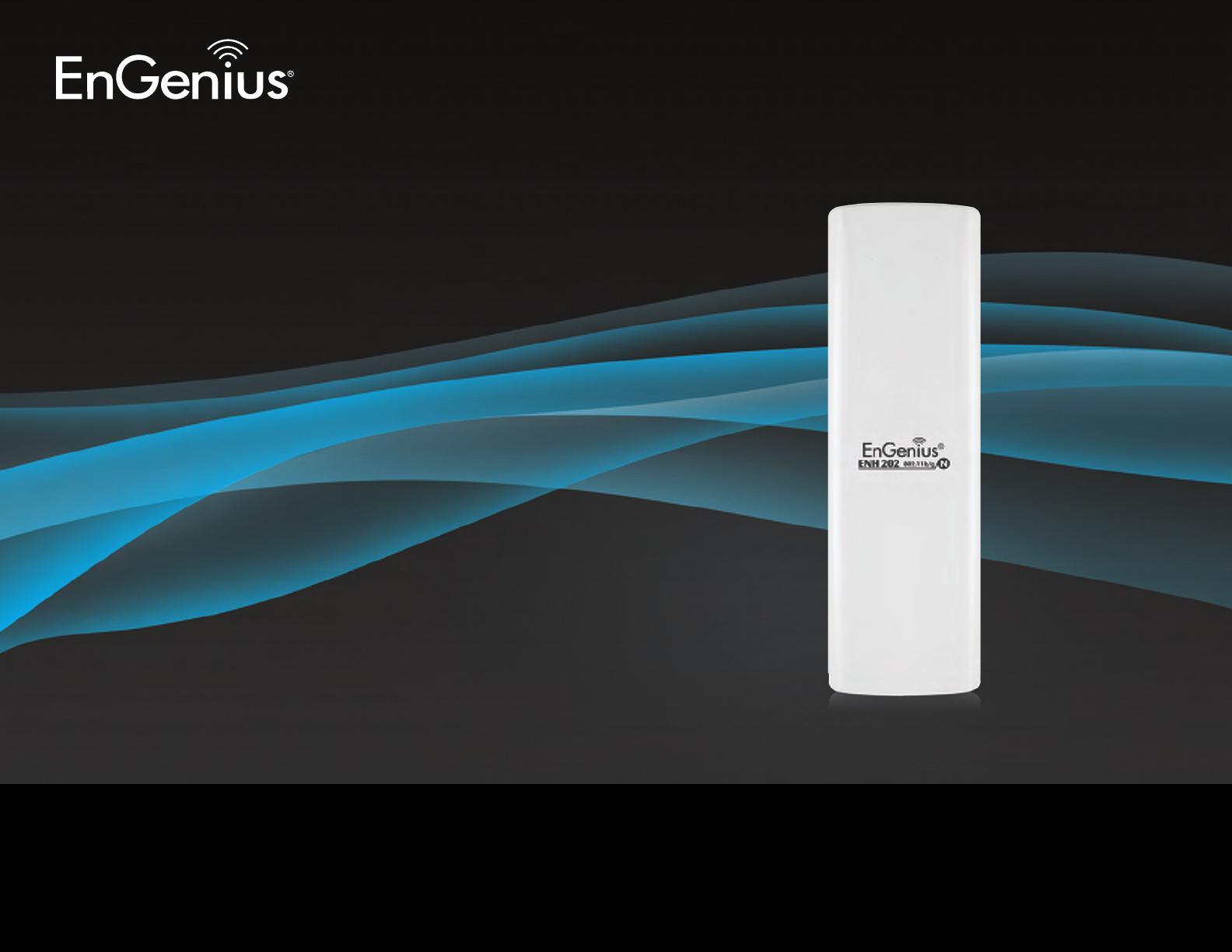 Engenius ENH202 Outdoor Long Range 802.1 1 B//G//N Access Point//Bridge