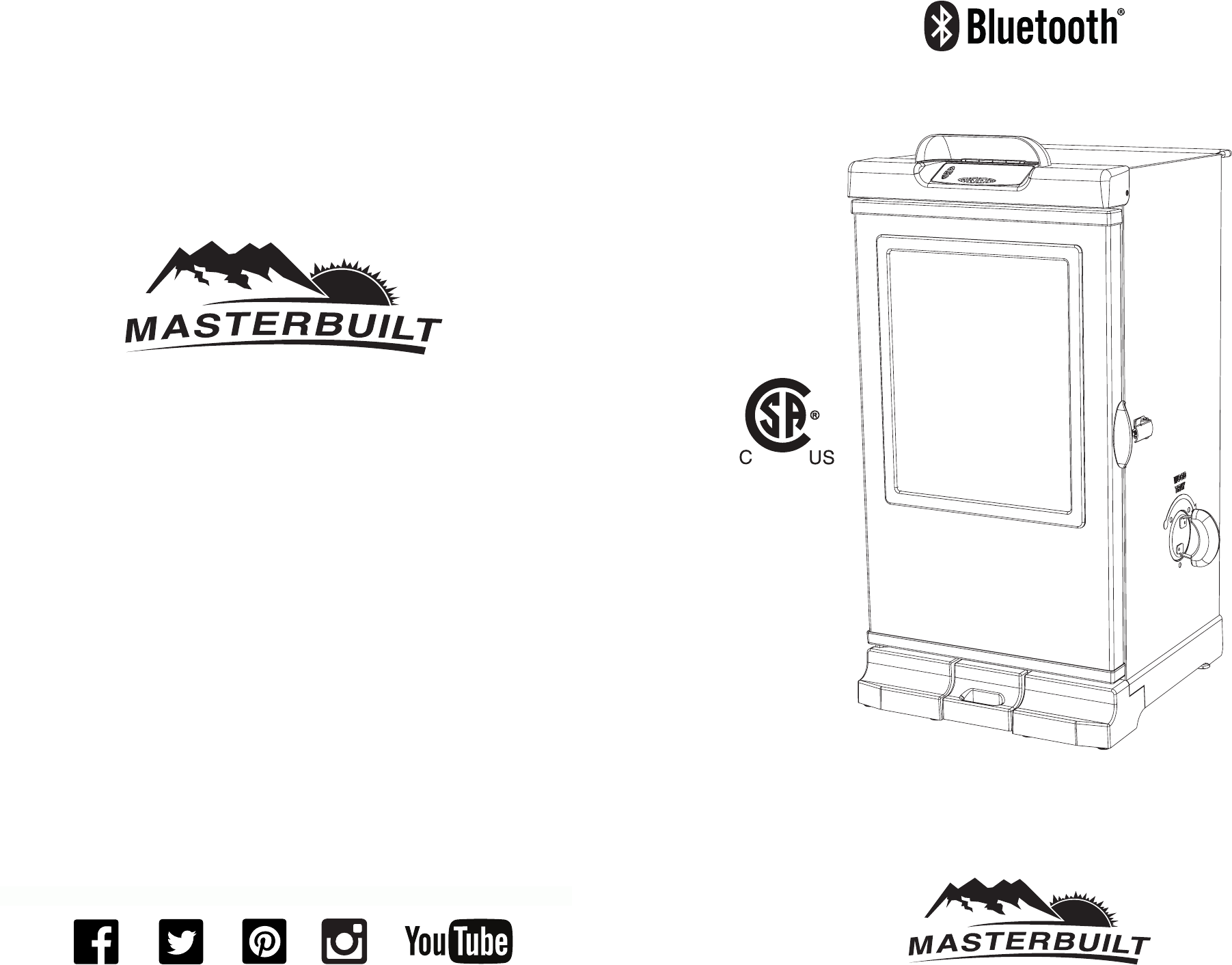Masterbuilt ESQ-3040C5 30 and 40 inch Electric Smoker with