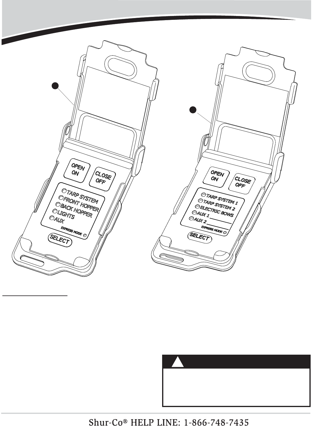Shur Co SCS1P Wireless Remote User Manual 1123159 Smart 1