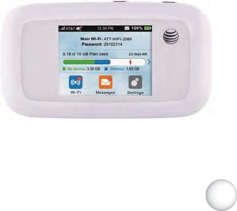 ZTE MF923 LTE uFi User Manual AT T Z998 User Guide