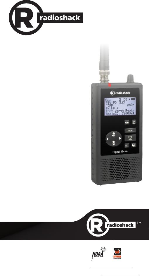 The Whistler Group SC10 Digital Trunking Handheld Radio