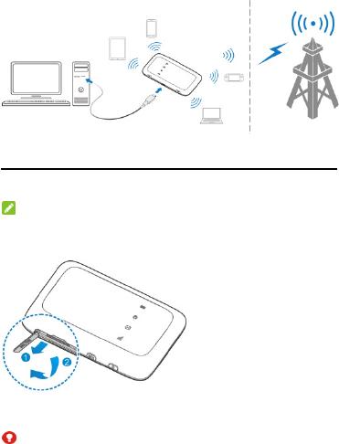 ZTE R216-Z Vodafone Mobile Wi-Fi User Manual MF910L