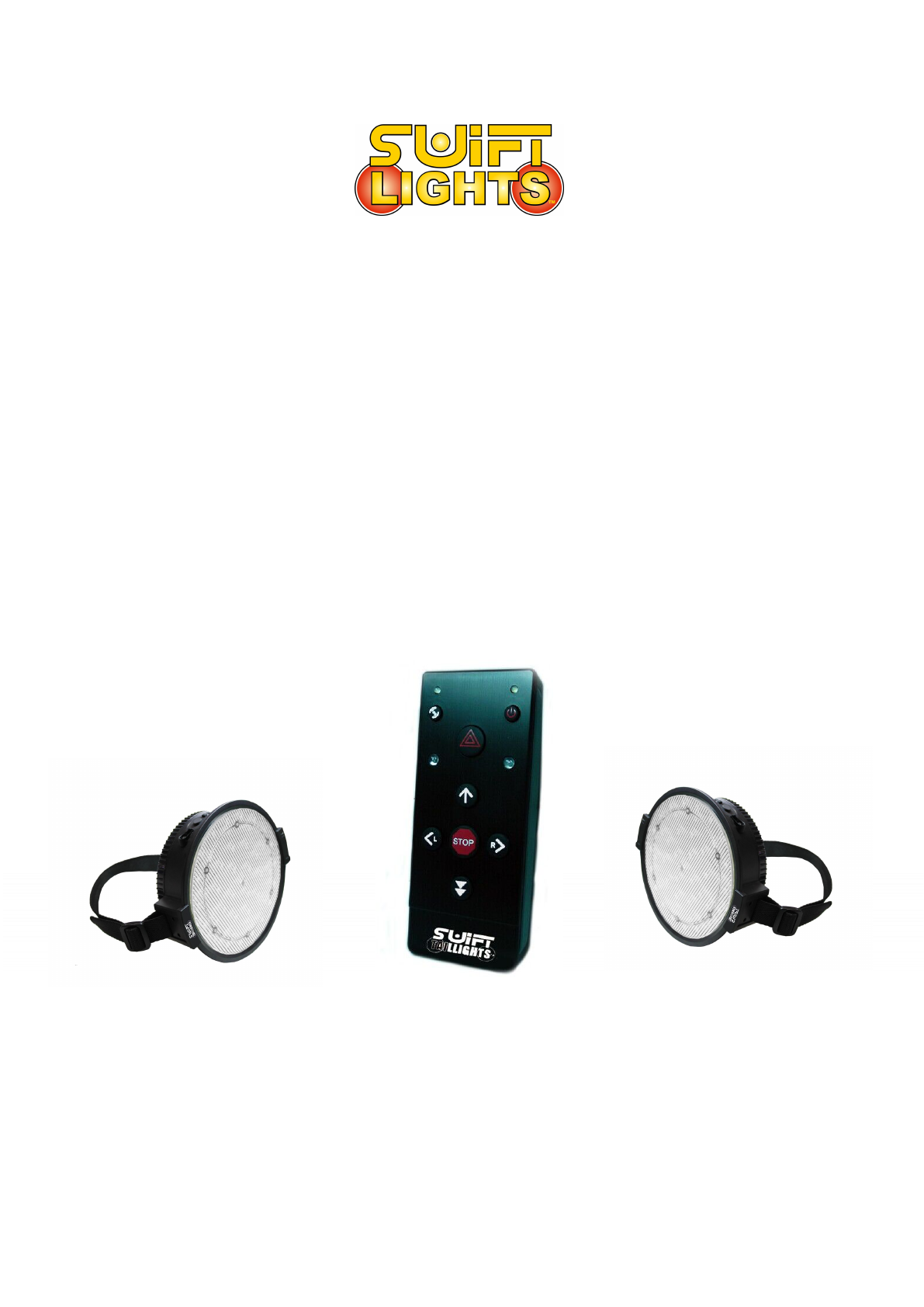 Portable Wireless Remote Controlled Temporary Tail Light Swift Taillights ST01