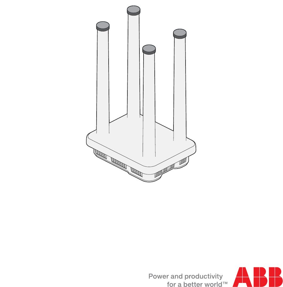 ABB 642401 Bluefin 2 4G User Manual 64xx Guide