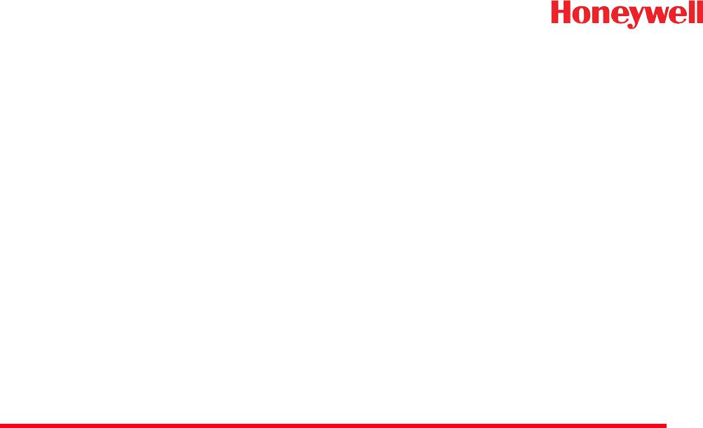 Honeywell 1981A Barcode Scanner User Manual 14C0587R 1981i 1