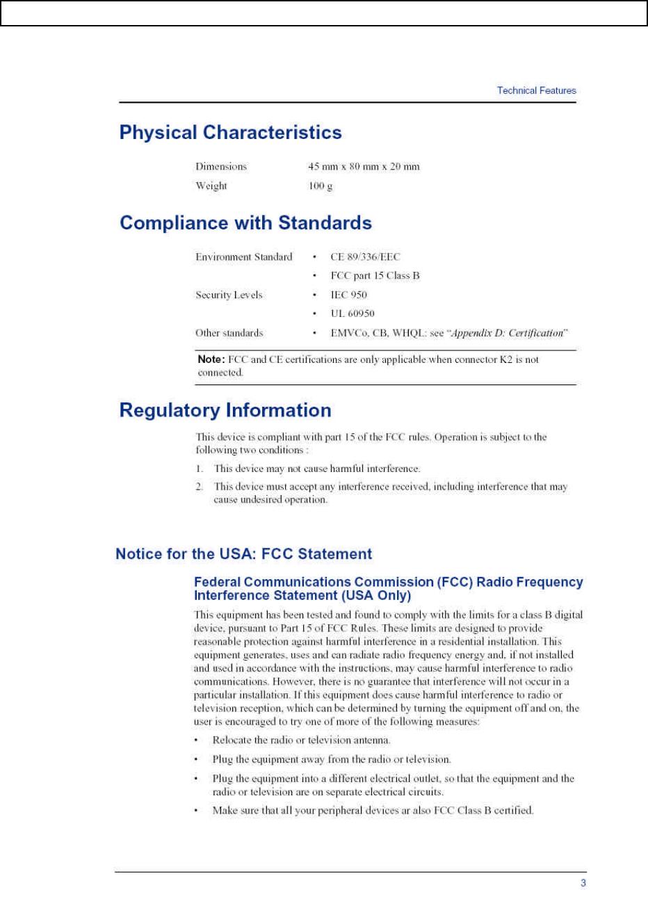 Gemalto 410EMVGC Smart Card Reader User Manual manual MES410EMVGC