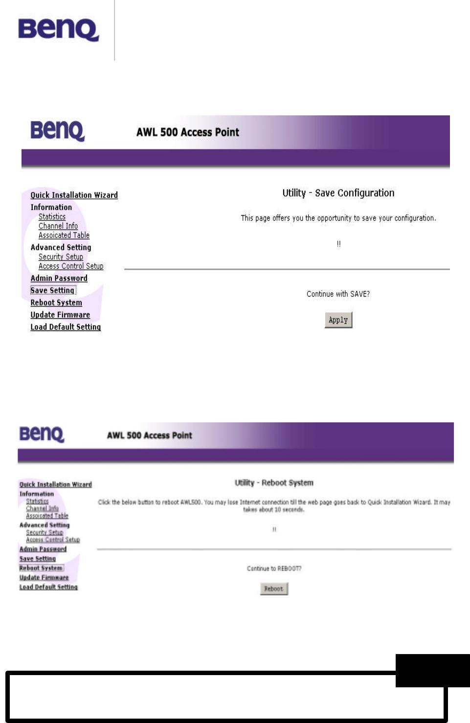 Benq Network Card AWL500 Drivers Update