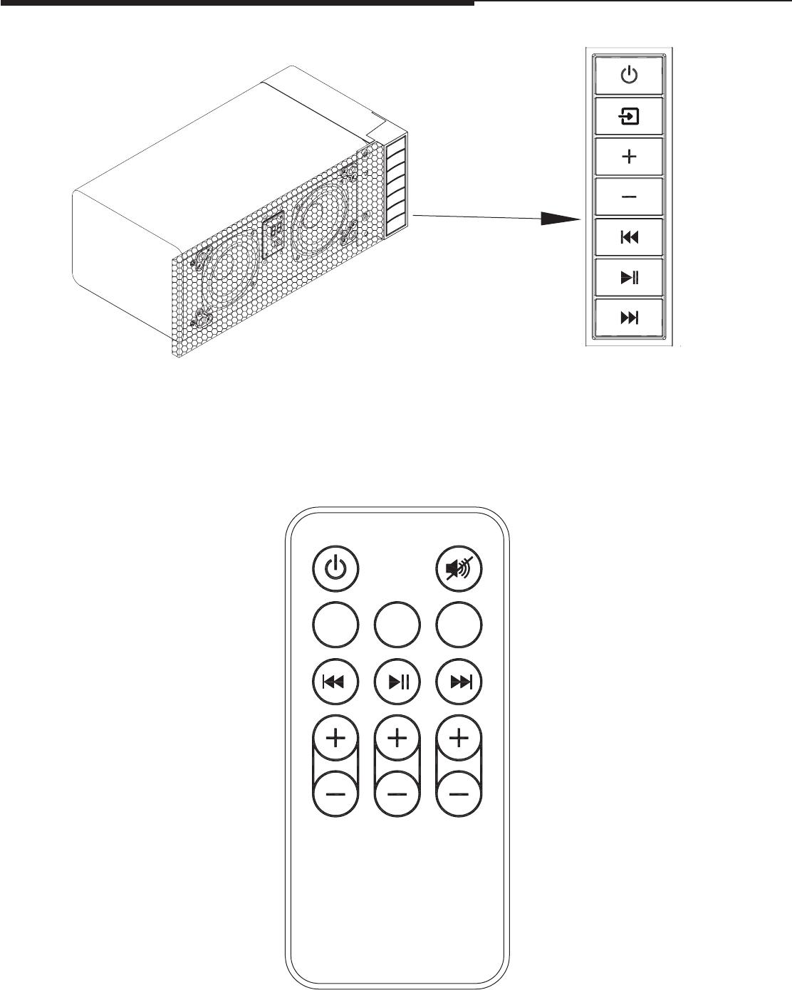 Twin Star TS-1206 SOUND SYSTEM User Manual Manual