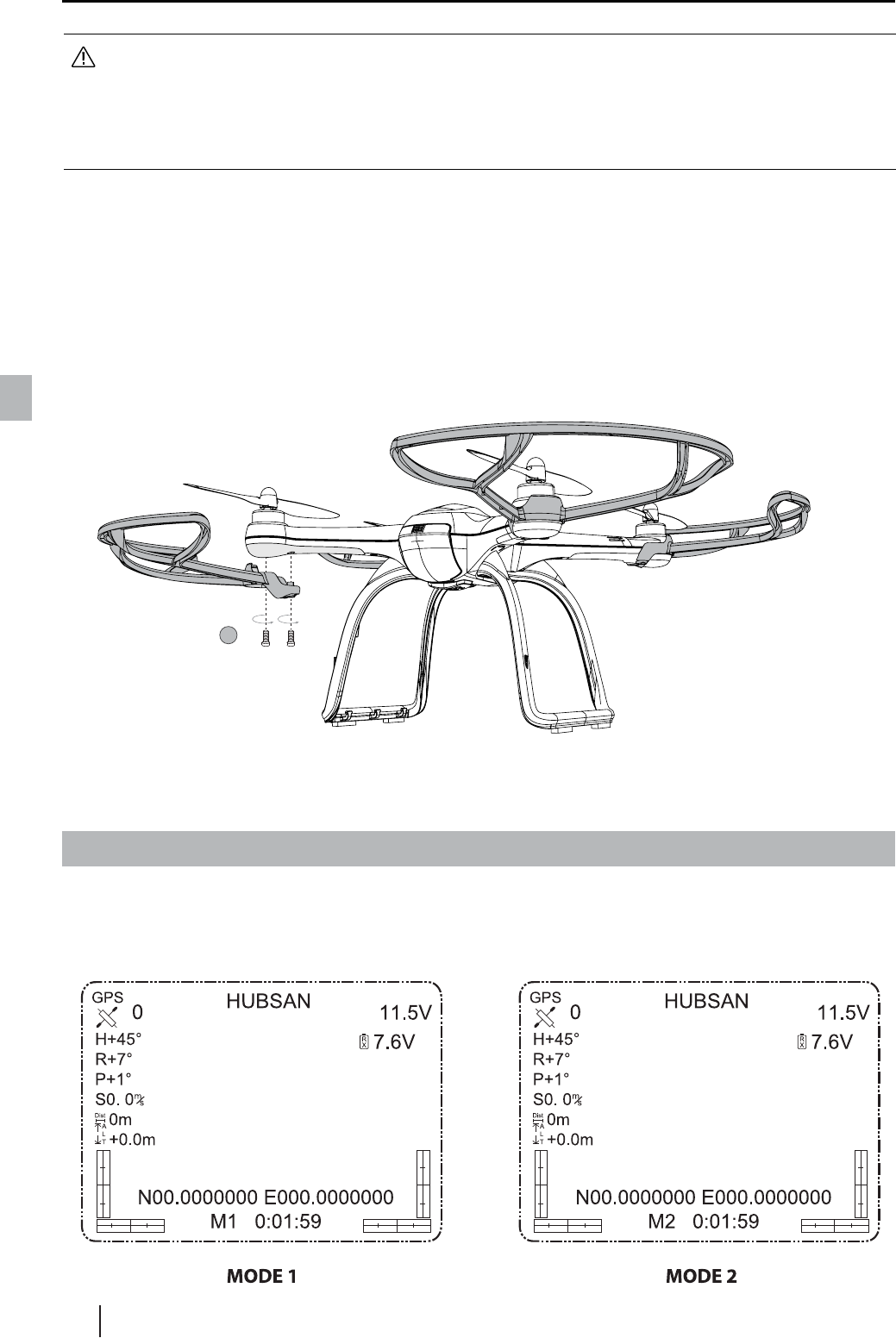 Hubsan Intelligent 109srx X4 Pro User Manual Wiring Diagram 4 Prepare The 24ghz 58ghz Transmitter