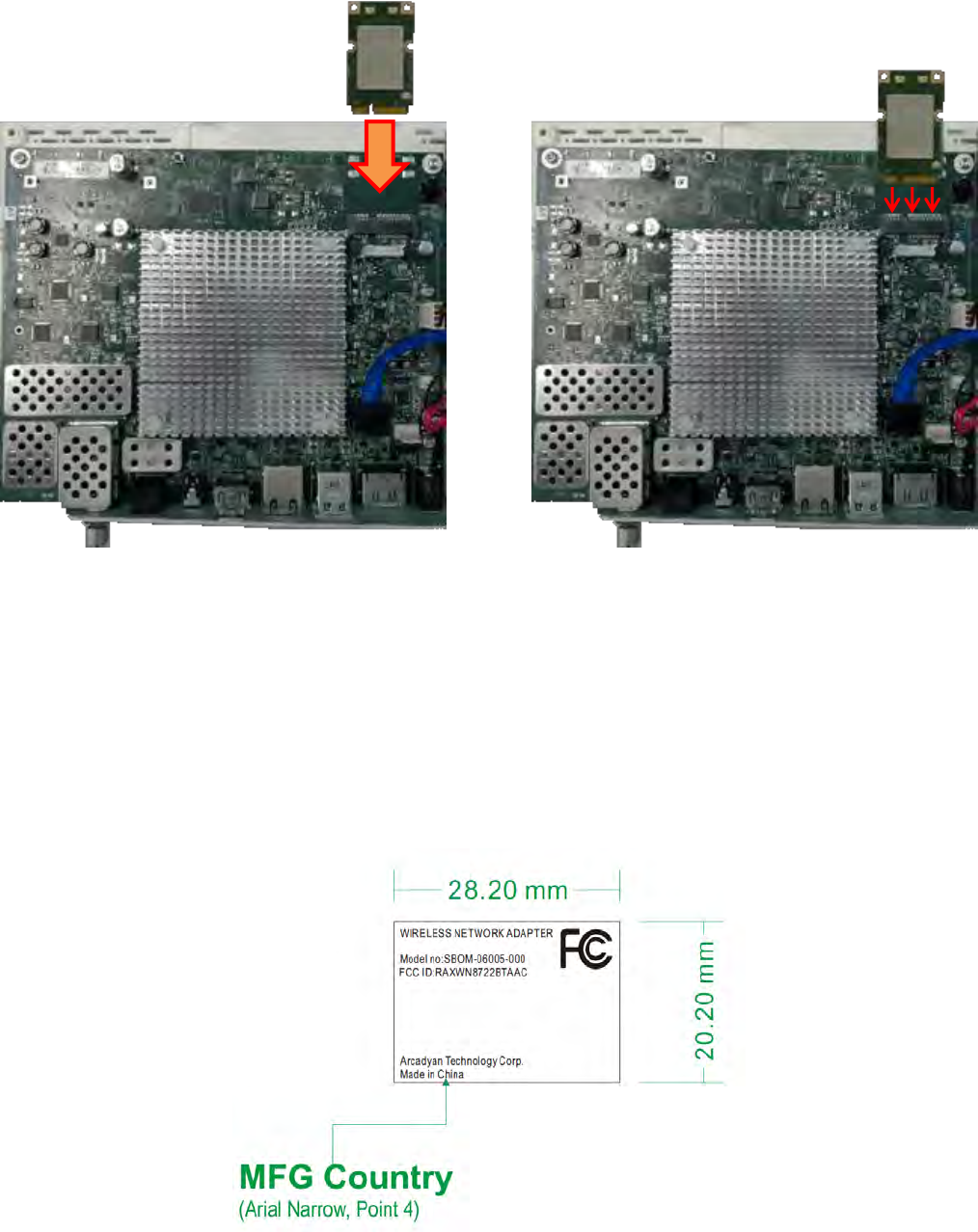 Arcadyan Technology WN8722BTAAC WN8722BTAAC-VO User Manual IEEE 802