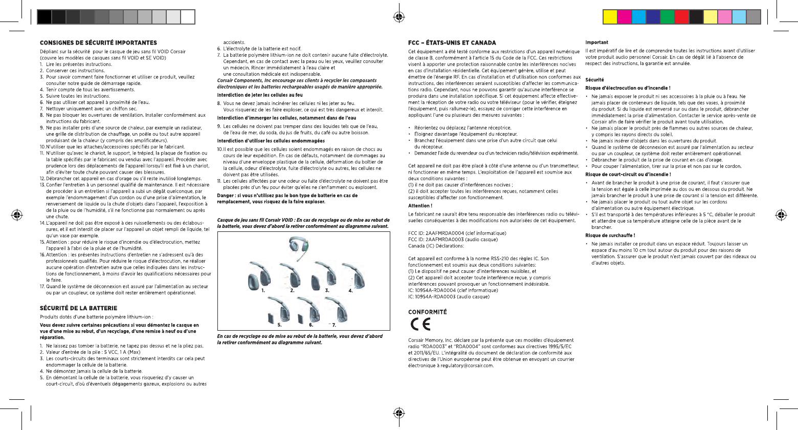 Corsair Memory RDA0004 USB dongle User Manual Part 1
