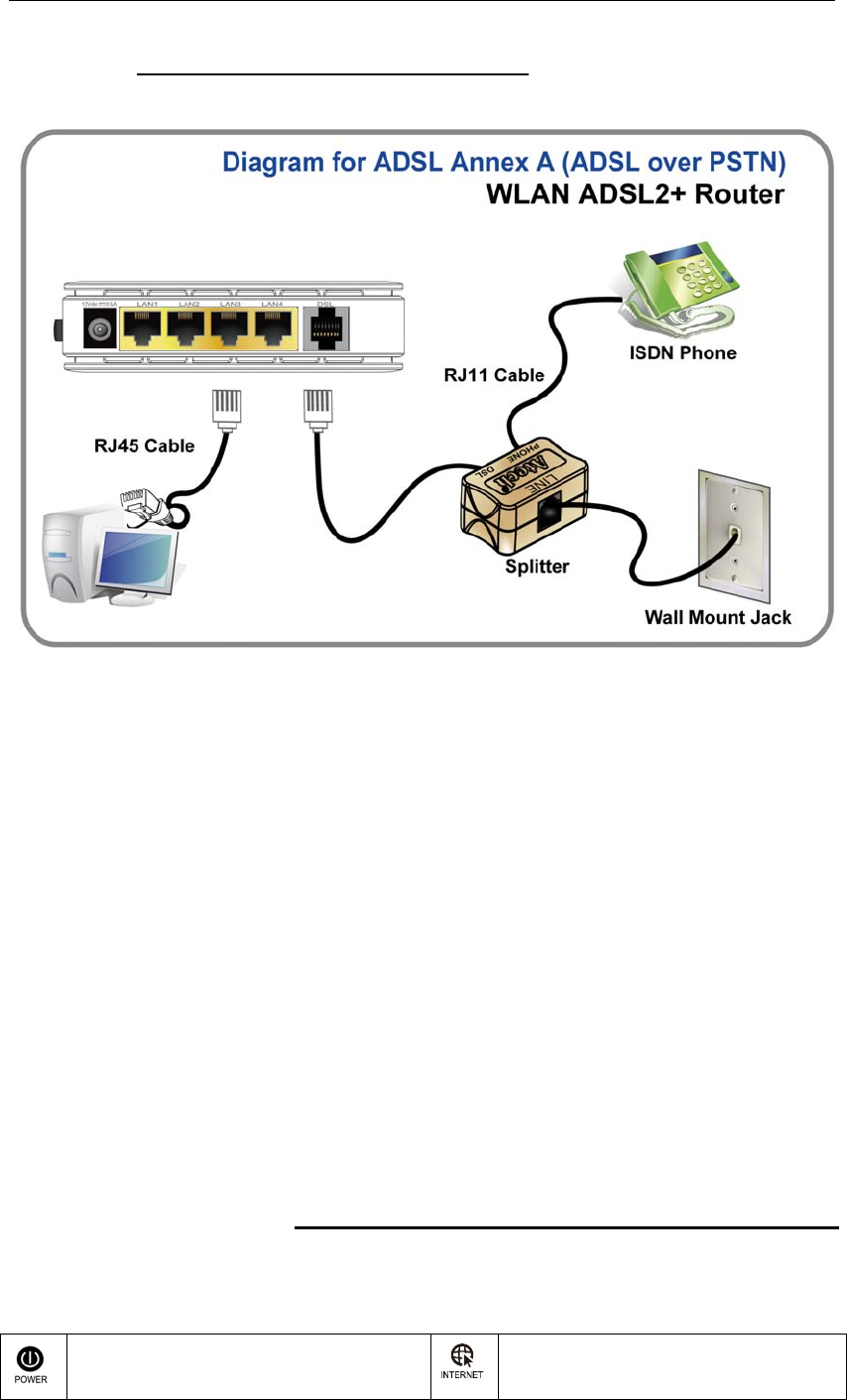 Baudtec Rn243r4a9 Wireless Adsl2 Router User Manual Adsl Rj11 Wiring Diagram For Users Guide
