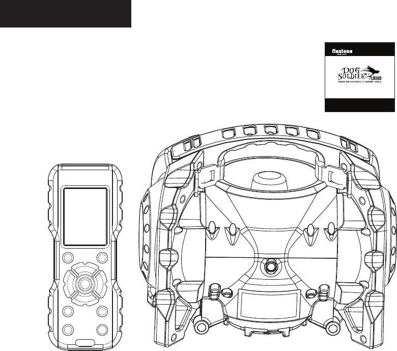 WGI Innovations FLX500 E-Game Call User Manual
