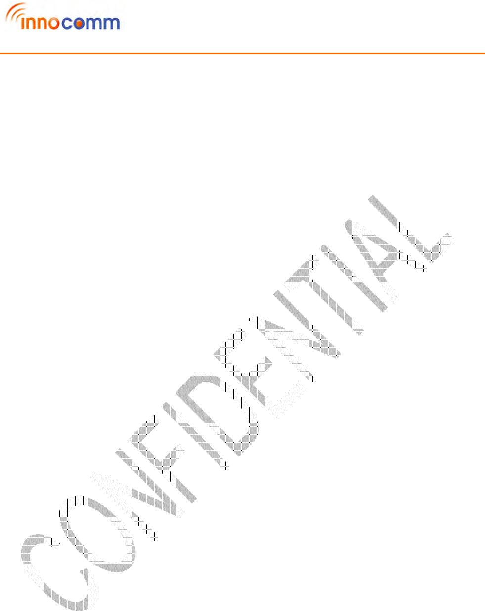 InnoComm Mobile Technology WM05-AN WiFi Module User Manual