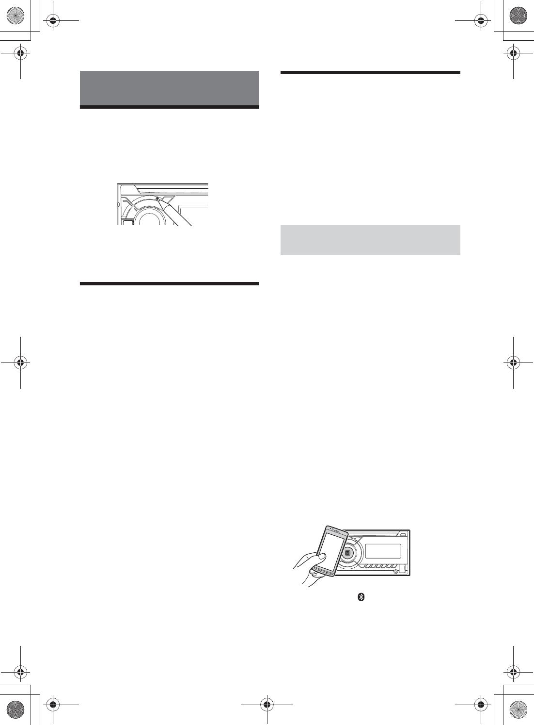 Sony WX40BT Bluetooth Audio System User Manual WX 40BT
