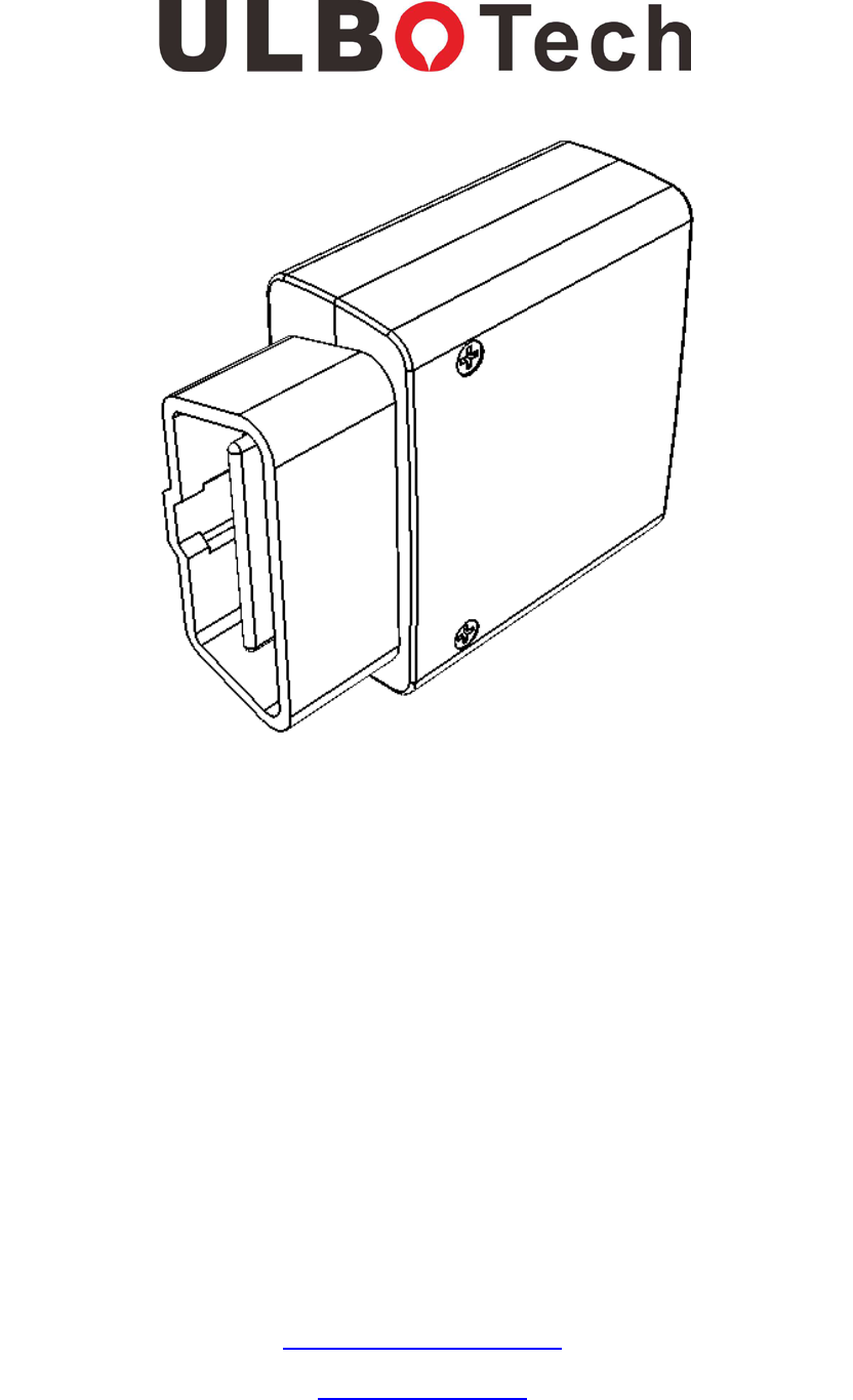 Ulbo Tech T373b Obdii Gps Tracker User Manual Obc2 To J1939 Wiring Diagram