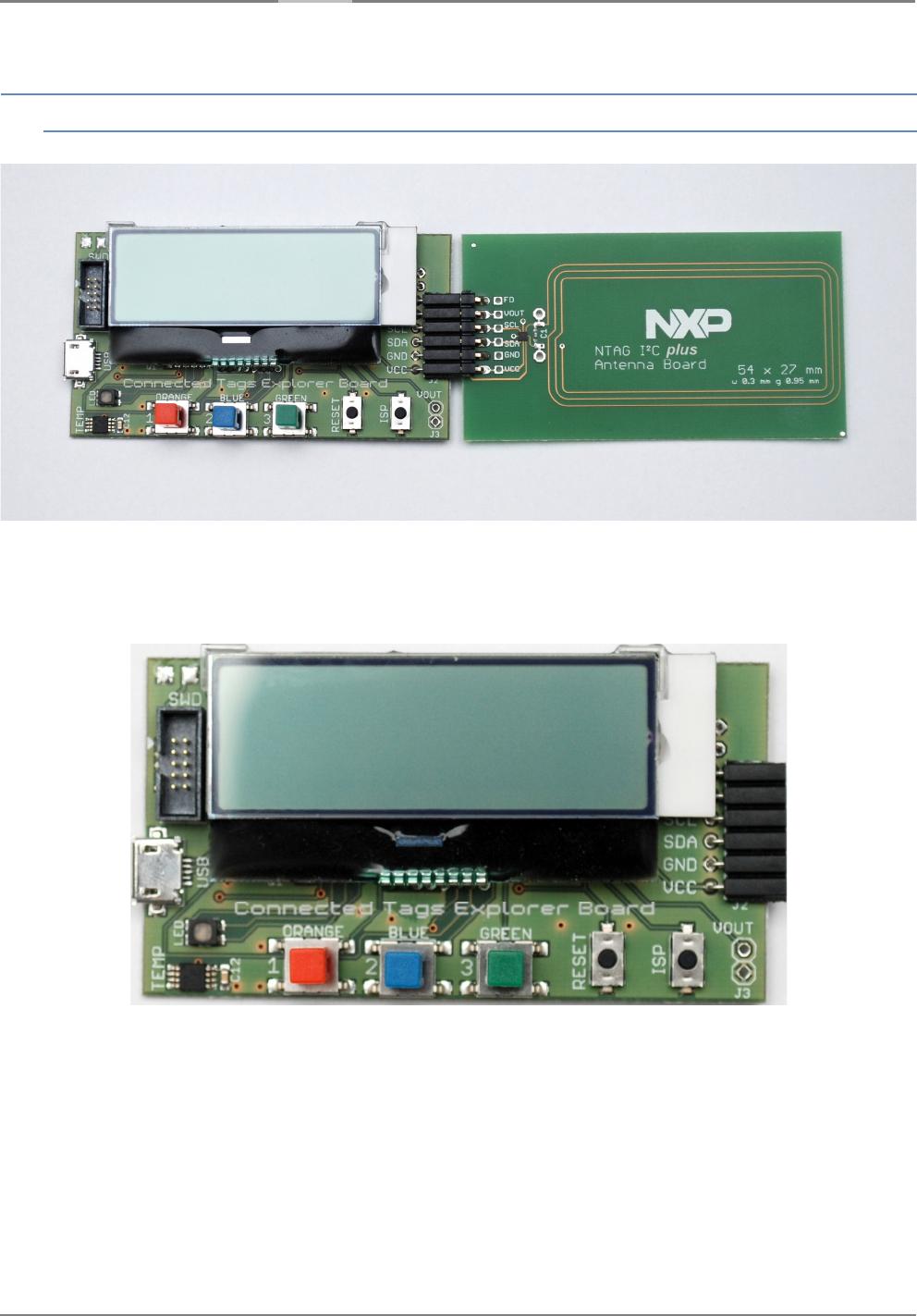 NXP Austria OM5569-NT322E NTAG I2C plus Explorer Kit User