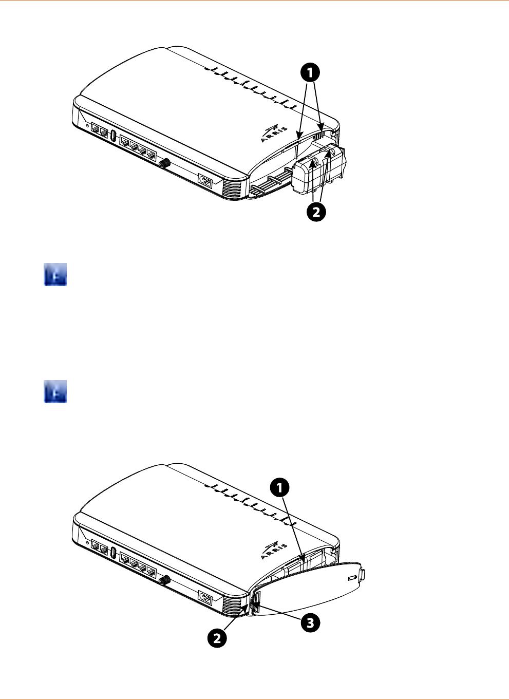 ARRIS Group TG1652 Touchstone Wireless Telephony Gateway