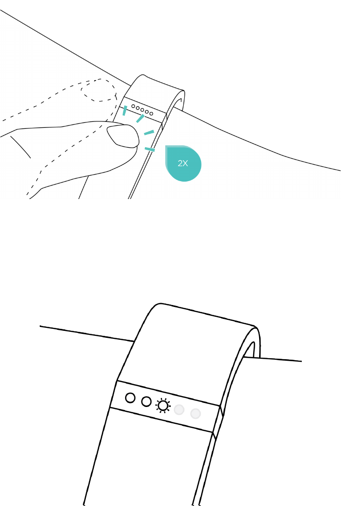 Fitbit FB406 Wireless Fitness Tracker User Manual Fitbit