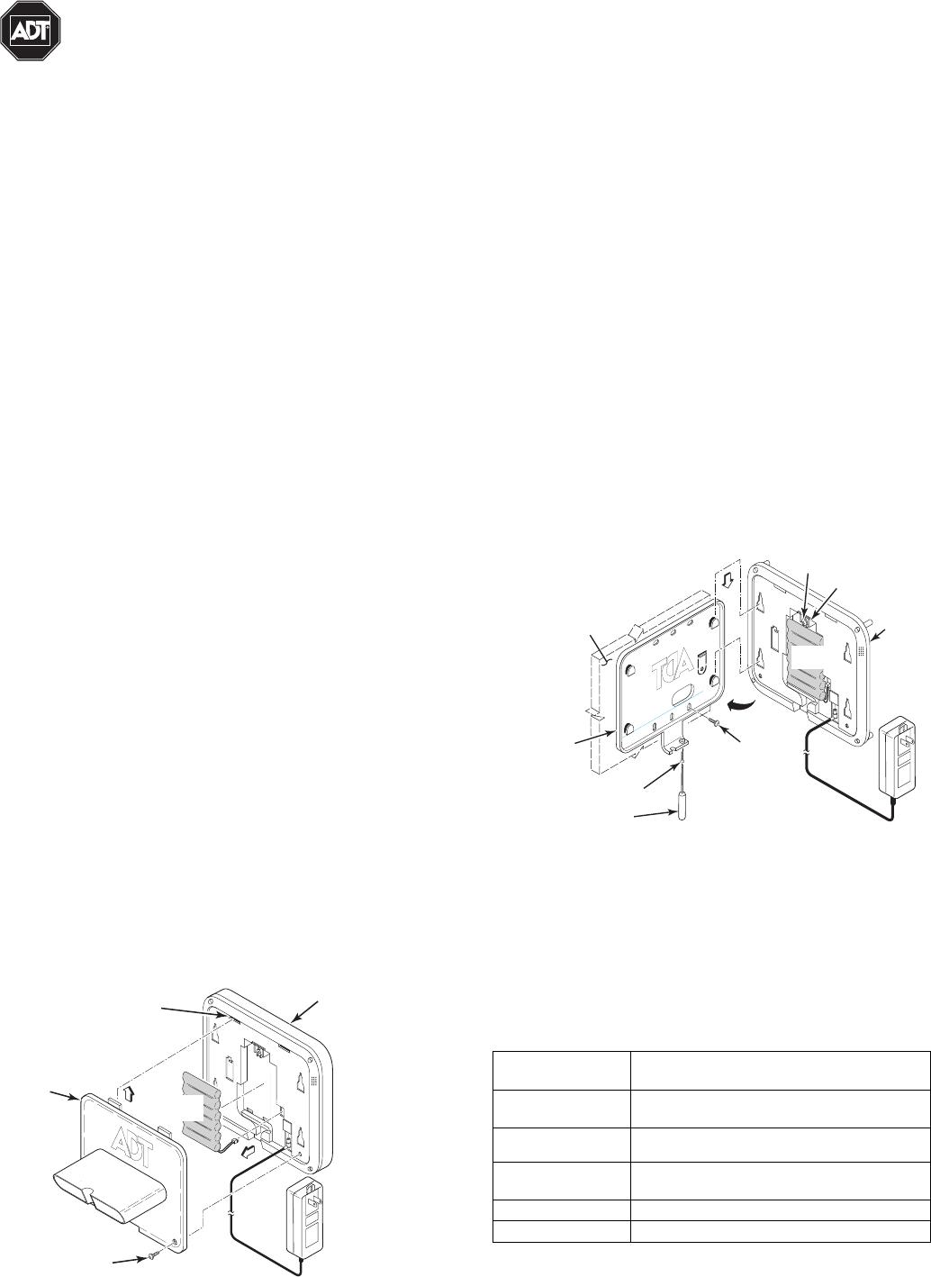 Honeywell 8dltsscbase1 Tssc User Manual 800 13958v1 C Tssc Keypad Ii