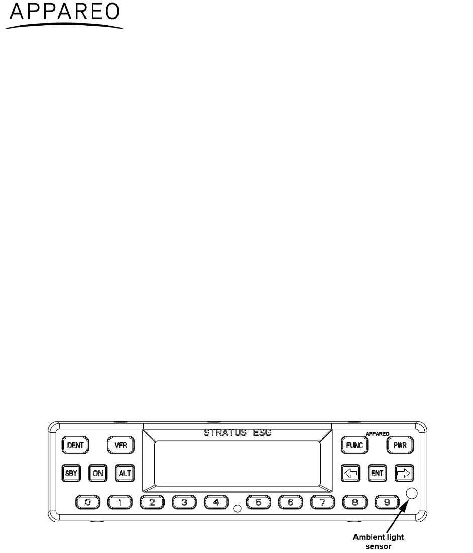 Appareo Systems 1505005 Aircraft Transponder User Manual ... on social diagram, epc diagram, emg diagram, home diagram, ems diagram, ecg diagram, can diagram, edi diagram, emp diagram, electronic diagram,