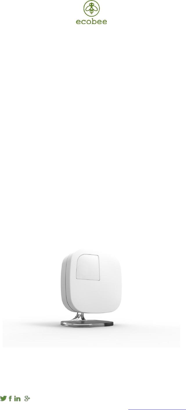Ebrse3 athena remote sensor occupancy and temperature sensor.