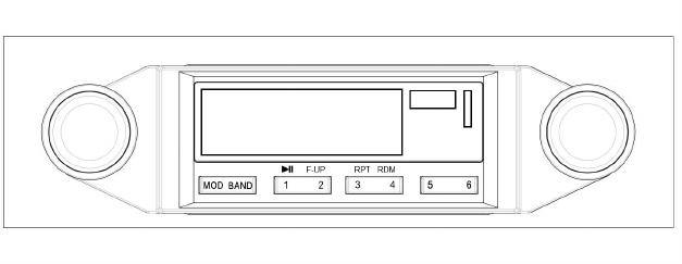 VENTURE TOP KHE-300USB CAR RADIO User Manual
