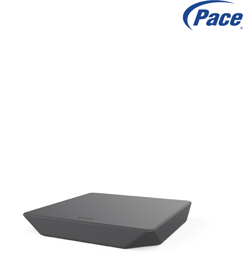 Pace Micro Technology plc PX051AEI IP Client Set Top Box