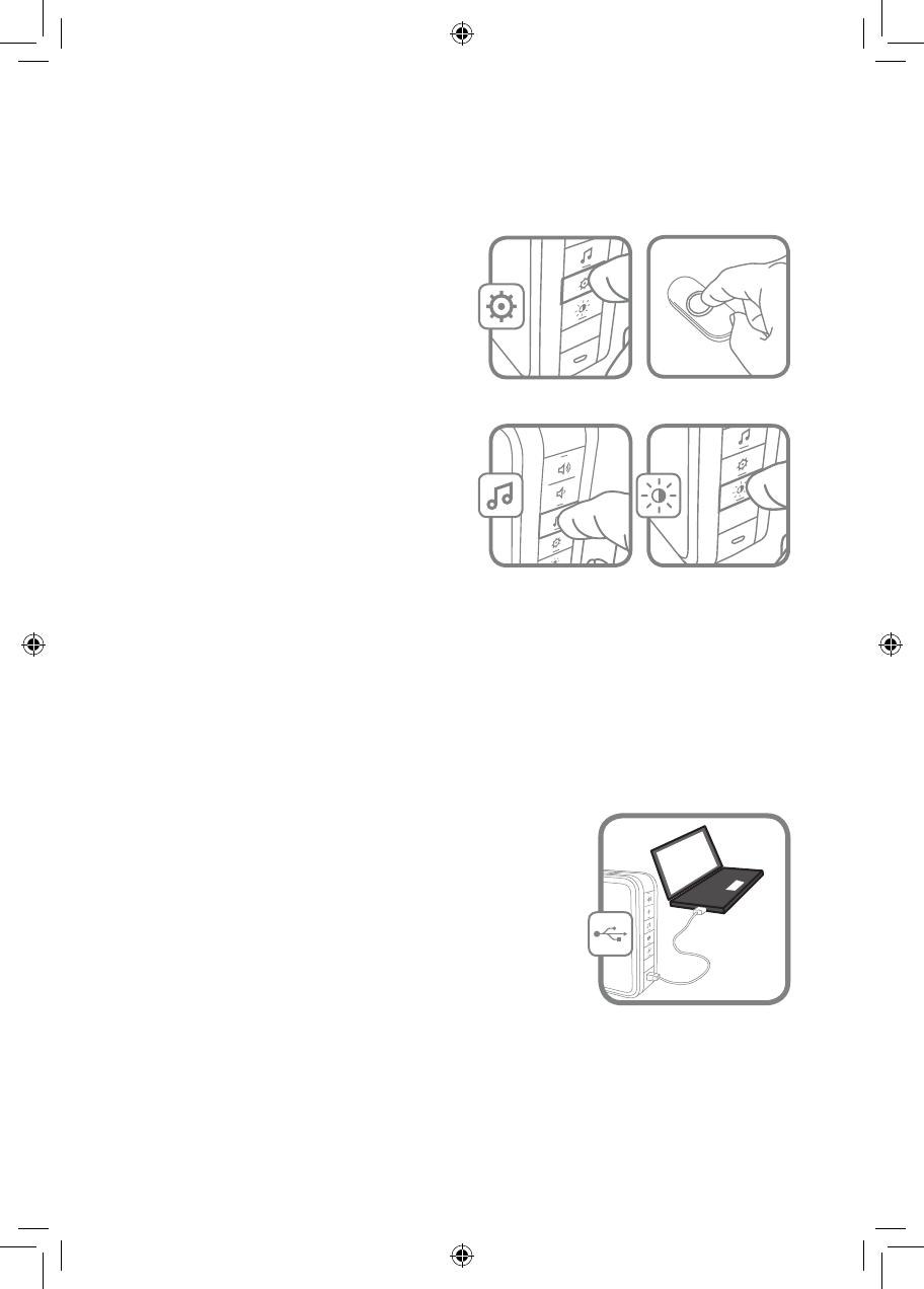 Honeywell RDWL917A Doorbell push (Transmitter Only) User