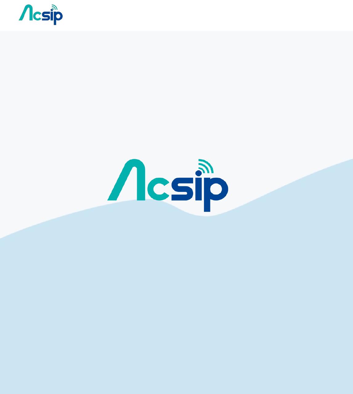 AcSiP Technology AI7688H 802 11b/g/n IoT Module User Manual