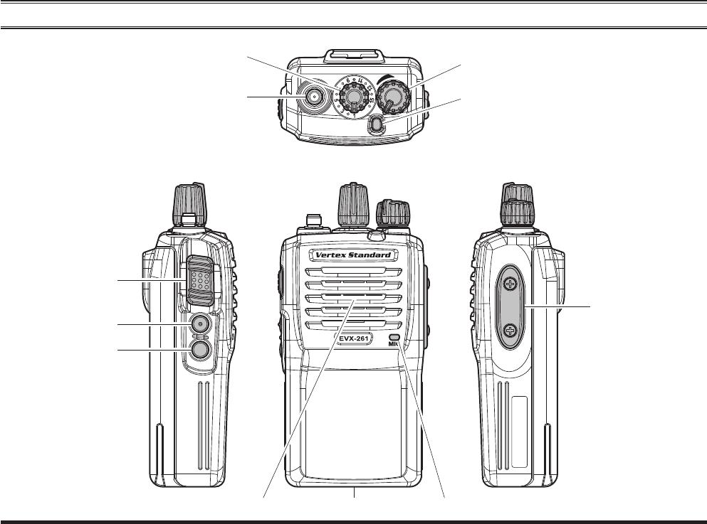 Vertex Standard USA 11373020 2-Way Portable User Manual