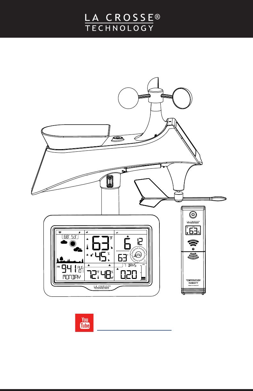 La Crosse Technology S85807 Professional Weather Station